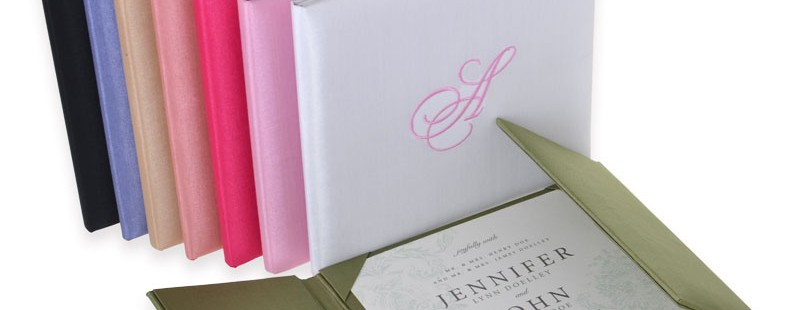 Personalised Silk Book Folios