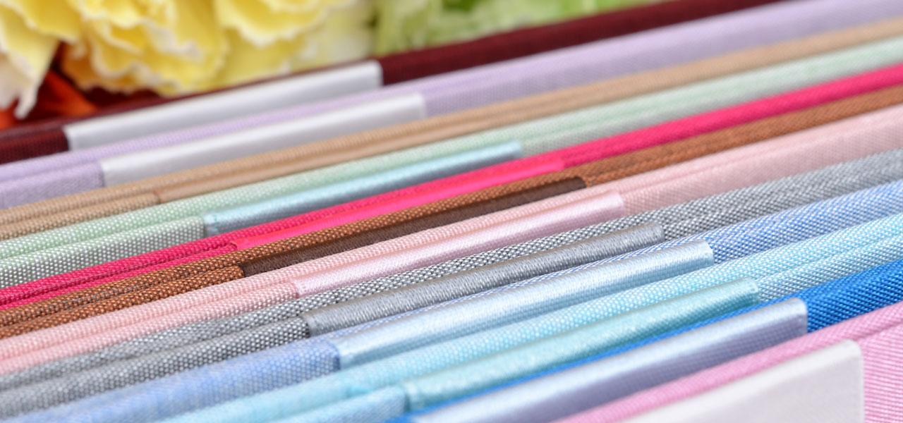Silk Pocket Folios Embellishments