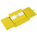 5.5x7.5x1 Embellished Gatefold Silk Invitation Box