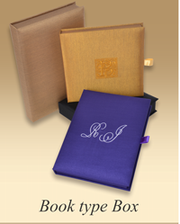 Personalized Book type Box