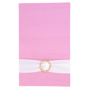 Pocket Folios with Embellishments in Pink