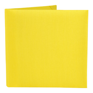 Silk Book Folios 6x6 inch in Yellow