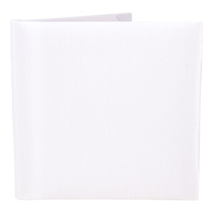 Silk Book Folios 6x6 inch in Off white
