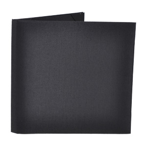 Silk Book Folios 6x6 inch in Black