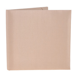 Silk Book Folios 6x6 inch in Champagne