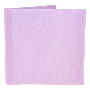 Silk Book Folios 6x6 inch in Lilac