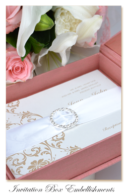 Silk Invitation Embellishments