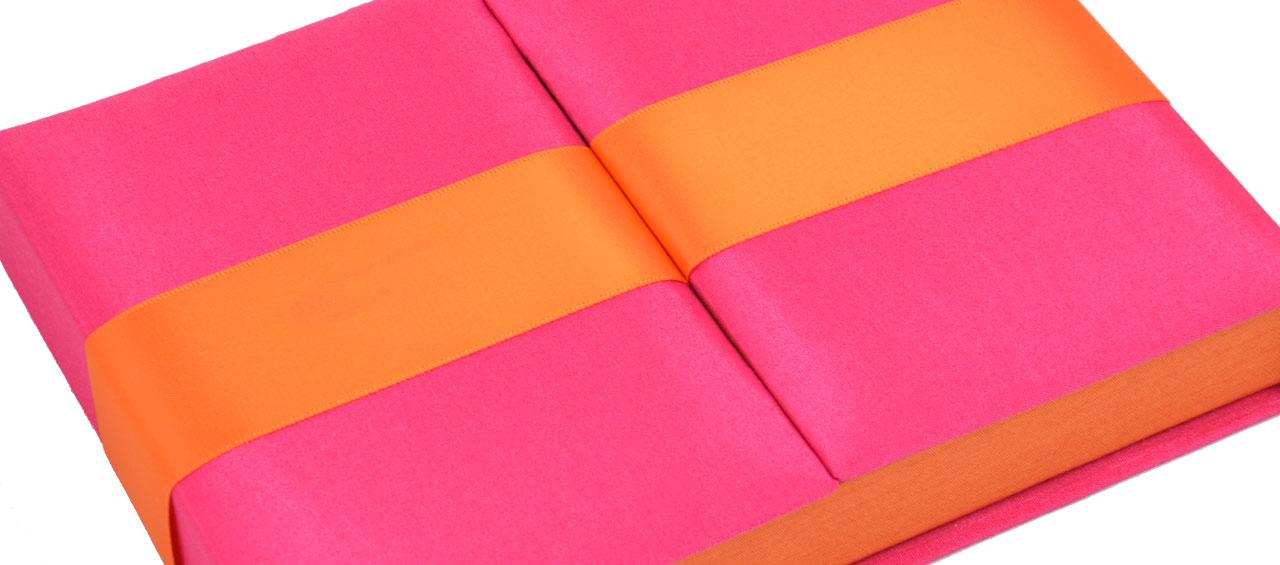 Gatefold Embellished Invitation Boxes two tone