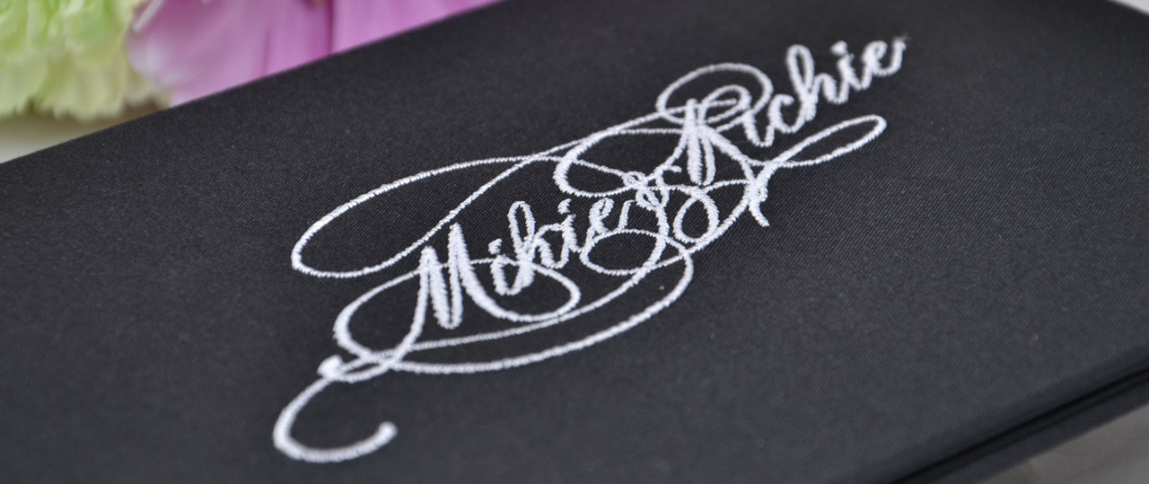 Personalized Wedding Invitations 6x9 Folios