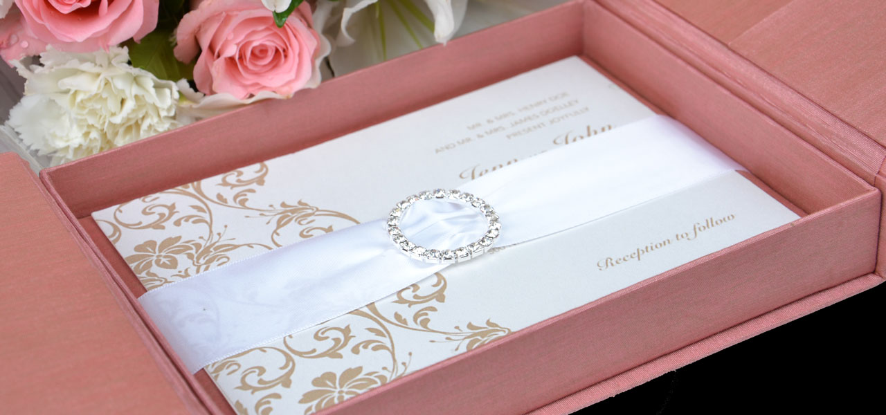 Thai Silk Invitation Box Embellishments