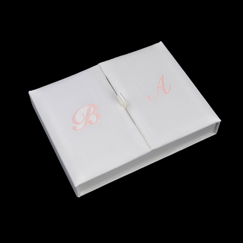 Gatefold Silk Invitation Box