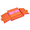 Two Tone Embellished Gatefold Silk Invitation Box