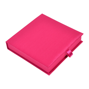 6x6x1 Invitation Box in Hot Pink