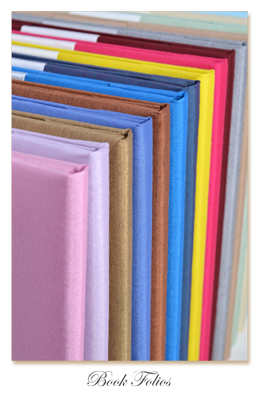 Silk Invitation Embellishments Book Folio Wedding Invitations