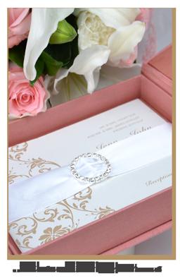 Thai Silk Box Original Handcrafted Silk Wedding Invitation Box